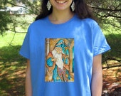 Merlin T- SHIRT - Woman's Fine Art Transfer T-Shirt - XS S M L XL 2XL 3XL - Many Image and Color Choices