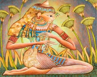 Sensen - Egyptian Goddess Of The Lotus Blossom