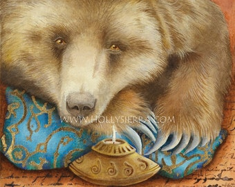 Bear - A Fine Art Greeting Card