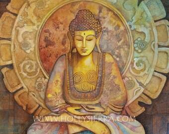 Buddha - A Fine Art Greeting Card