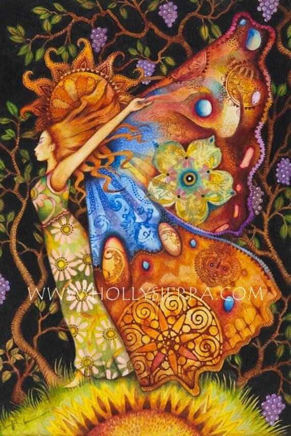 Psyche - A Fine Art Greeting Card