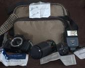 Sears KS Super II SLR 35mm Camera -  80s
