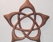 Lotus Flower Pentacle - Hidden Pentacle - Flower Pentagram -Svadhisthana Chakra
