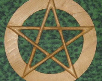 Wide Banded Pentacle - Symbol of Protection and Holistic Relationship