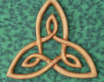 Celtic Knot of Inner Strength-2nd Law of the Hermetic Principles-Celtic Triangle-Triquetra