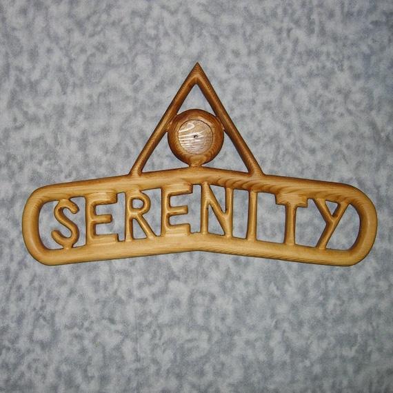 Serenity Anniversary Chip Holder-Sobriety Birthday Chip