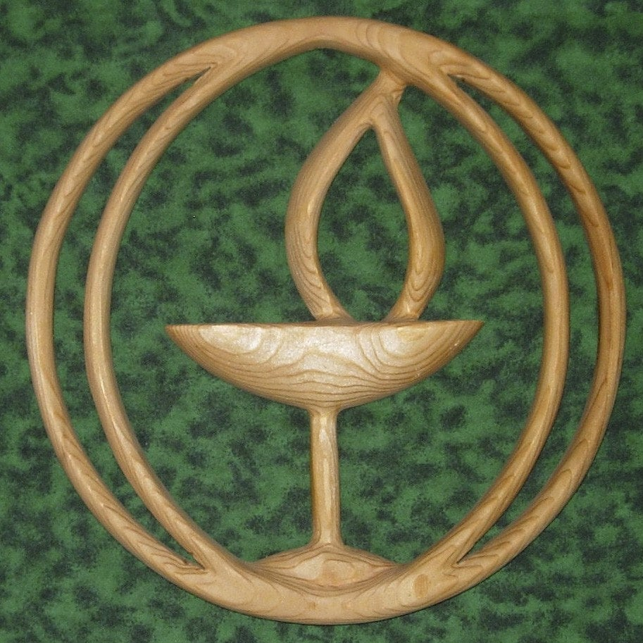 Our Symbol The Flaming Chalice: Unitarian Universalist Chalice-UUC-Flaming Chalice