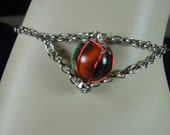 Hand-Crafted Marble Ankle Bracelet (Small)