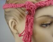 Crocheted Marble Headband
