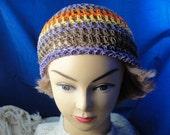 Hemp Marble Beanie Hat