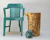 Stump Table-Custom Carved