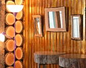 Tree Slice Wallcovering Tree Ring learning