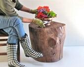 Garden Stump To Boot