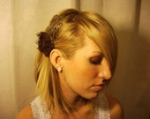The Mockingbird Collection-Chocolate Feather Hairband