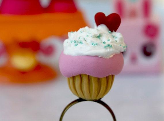 Cupcake ring food jewerly