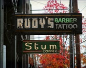 Rudy's and Stum - 8 x 12 Color Photograph