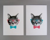 gee whiskers series: 5x7 print