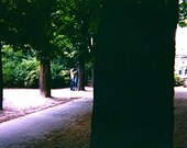Valentine's Day Card - Couple, Luxembourg Gardens, Paris