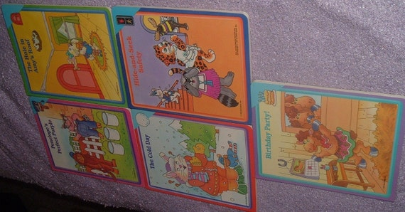 Vintage Children Early World of Learning Book Set Lot of 17 by World Book Readiness Program
