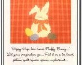 Fluffy Bunny Applique Pattern
