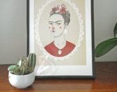 Frida Kahlo - Digital Print