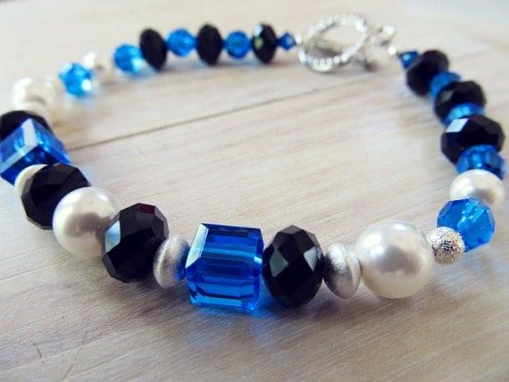 Police Memorial Bracelet - Thin Blue Line Bracelet