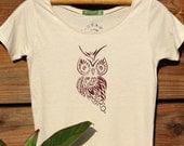 Wise Little Owl Organic Cotton Tee