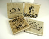 TO have and to HOLD wedding or favors  Magnets- Set of (4)