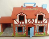 Vintage Fisher Price Tudor Dollhouse For Sale By Owner