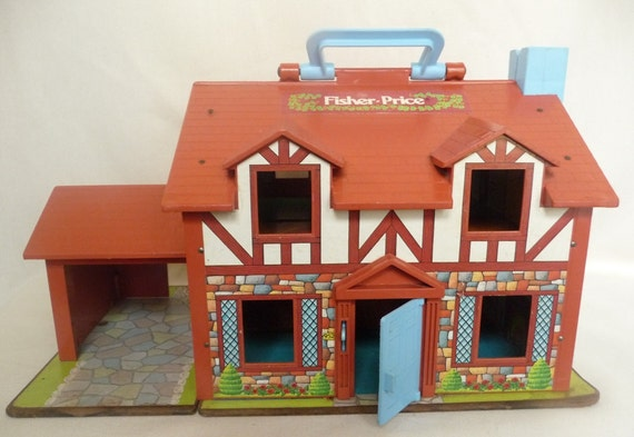 Vintage fisher price tudor dollhouse for sale by owner for Young house love dollhouse