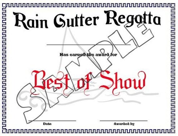 Raingutter Regatta Certificates PDF file