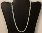 Swarovski Crystal AB Woven Necklace - 19 inches