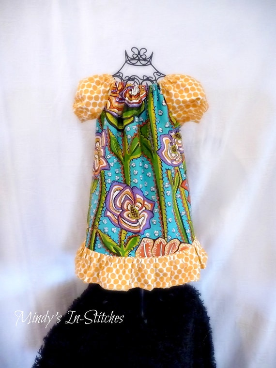 The Bee's Knees Girl's Peasant Dress