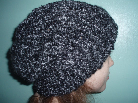 Chunk of Coal KNIT BEANIE HAT Slouch