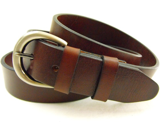 35mm genuine leather belt sunset made in by