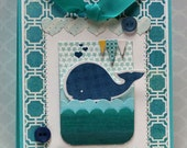 Wishing You A Whale of a Birthday -  Interactive Birthday Card