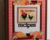 Farm Fresh Recipes - Create Your Own Cookbook