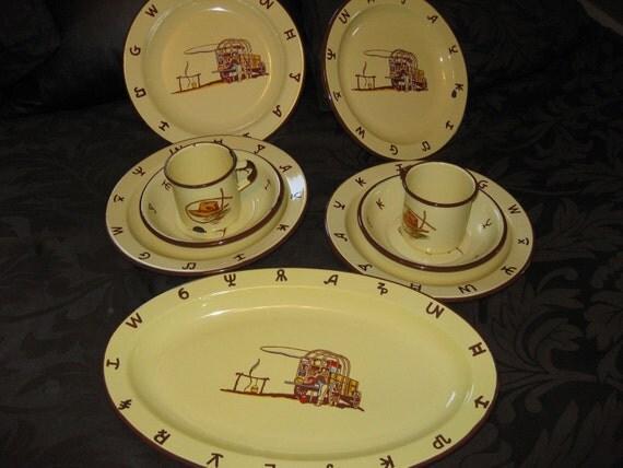Vintage Western Dinnerware 97