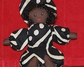 Festive Afro Bean Bag Doll