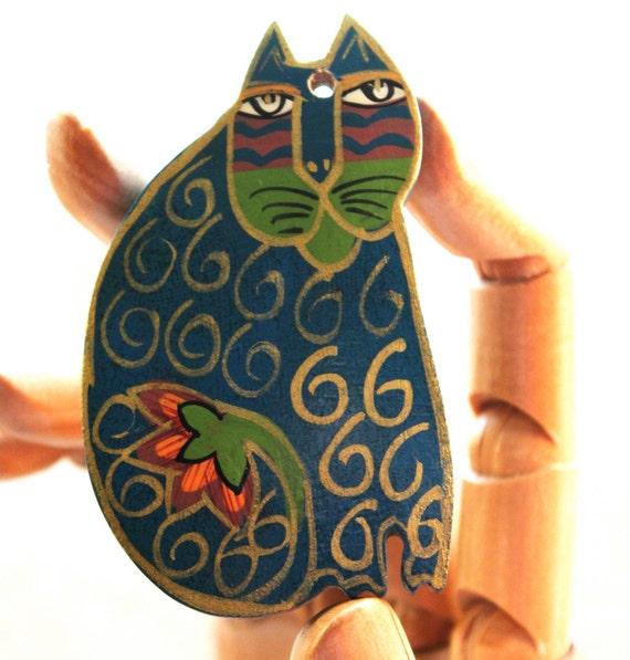 Laurel Birch Cat pendant