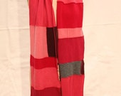 Red Delicious Reconstructed Cashmere Scarf\/Shawl
