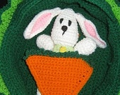 Bunny Play Set Cradle and Purse And Clothing