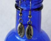 sterling silver eagle dangle earrings