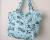 Christmas gift -Mint green Traditional Turkish Wooden Hand printing Fabric..,..Shoulder Bag ...Everyday Bag,green,mint,beach,