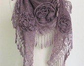 Triangle Shawl-Scarf .charismatic accessories, shawl, fashion, necktie, shrug, wrap, stole, capelet, scarflette,