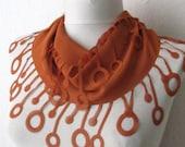 Chiffon Fabric Fringed  Scarf .bandana,headbandshawl,authentic, romantic, elegant, fashion,aqua