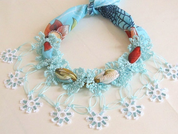 handmade necklace , beaded necklace
