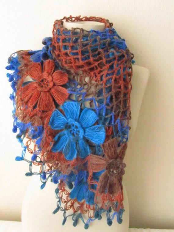 FREE Shipping..Multicolor Shawl-Scarf charismatic accessories, shawl, fashion, necktie, shrug, wrap, stole, capelet, scarflette,