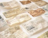 Vintage Currency Collection Set of 20 in 1/12 Dollhouse Scale