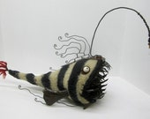 Bizarre Deep Sea Angler Fish Inspired by Dr. Seuss